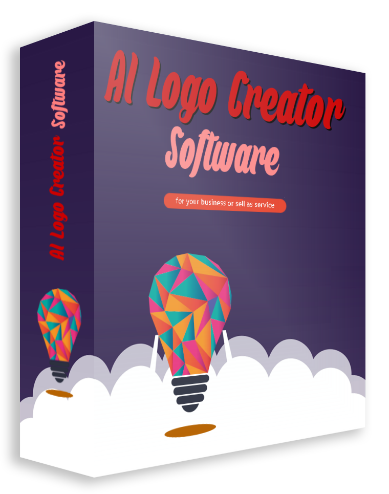 AI Logo Creator Software (Use for your business or sell as service)
